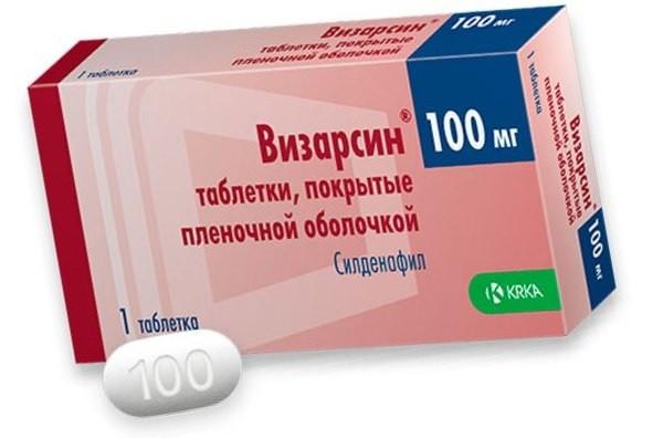 Визарсин таблетки для потенции