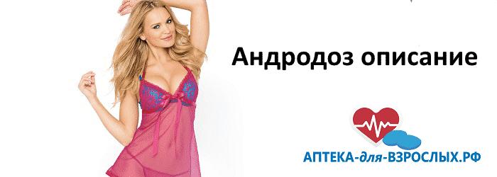 Девушка в розовом пеньюаре и текст Андродоз описание