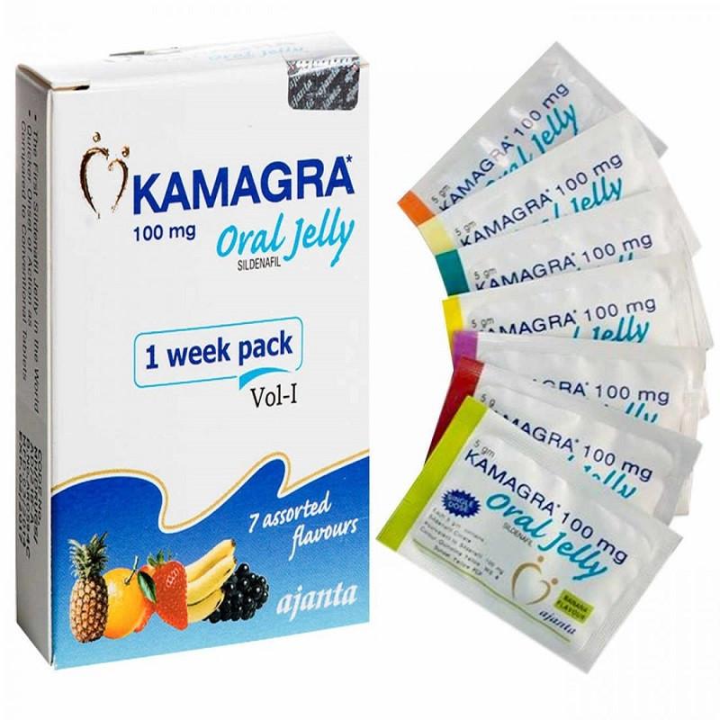 Камагра Гель пакетики