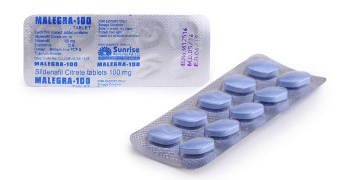 Таблетки Малегра 100 мг