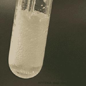 Фото пробирка с жидкой спермой