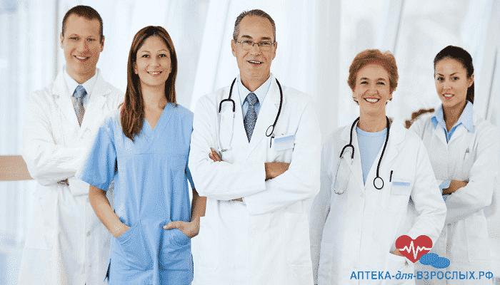 Фото команда врачей в больнице