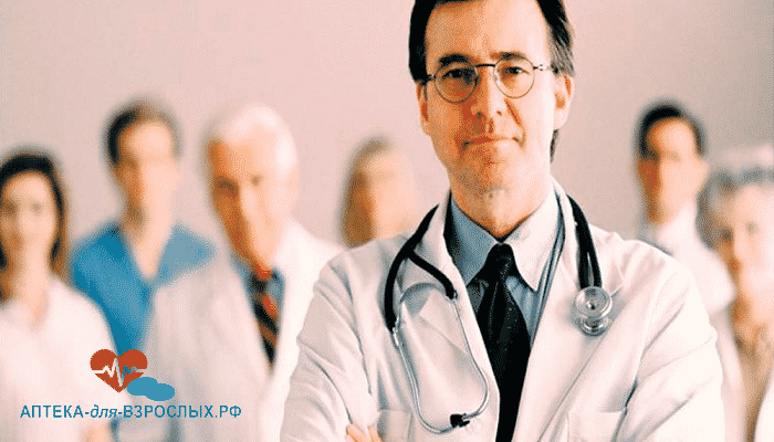 Фото команда опытных врачей