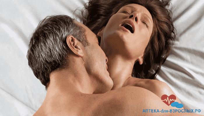 Мужчина и женщина занимаются сексом под действием Трибулустана