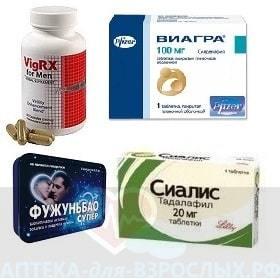 Фото препаратов для потенции