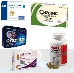 Фото препаратов для поднятия потенции