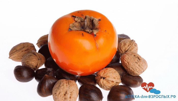 Фрукт и орехи для повышения потенции