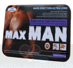 MaxMan в аптеке