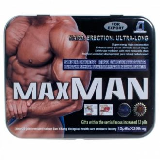 MaxMan инструкция по применению капсул