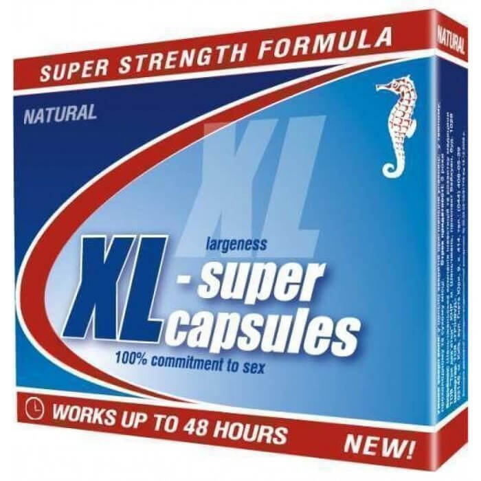 XL супер капсулы для мужчин